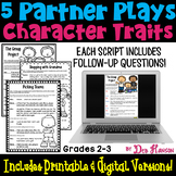 Character Traits Partner Plays (2nd and 3rd grades)
