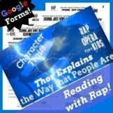 Character Traits Passage Google Classroom Reading Activity