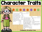 Character Traits Passages