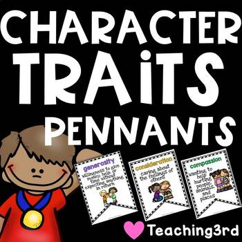 Character Traits Pennants - Pennants with a Purpose