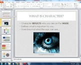 Character Traits & Personality Lesson Plan