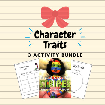 Character Traits/ Physical Traits with A Bad Case of the Stripes