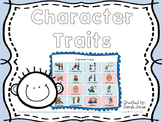 Character Traits - Picture Symbols
