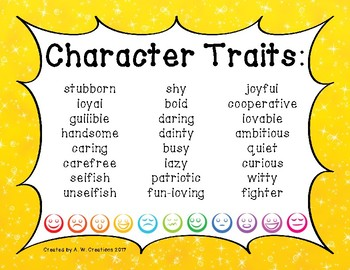 Character Traits (Posters)