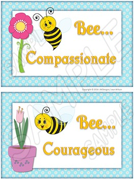 Character Traits - Posters