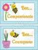 Positive Character Traits Posters nice for student counselors
