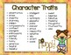 Character Traits Posters & Graphic Organizers