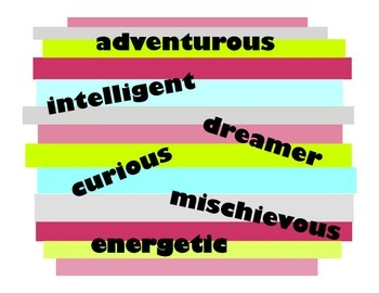 Character Traits Posters - Grouped by Category for Writing Topics