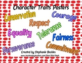 Character Traits Posters - Social Studies