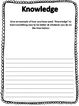 Character Traits Posters and Writing Activities for the School Year!