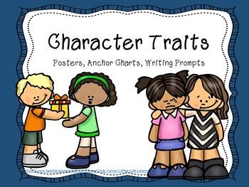 Character Traits Print and Go!
