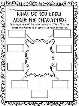 Character Traits Printables