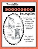 Character Traits (Provide an In-depth Description of a Character)