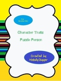 Character Traits Puzzle Person