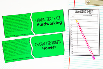 Character Traits Puzzles | 4th and 5th Grade Reading Center