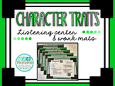 Character Traits - QR Listening Center and Work Mats