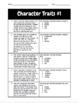 Character Traits Quiz