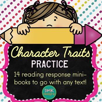 Character Traits Reader's Response Mini-Books