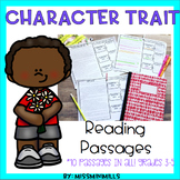 Character Traits Reading Passages