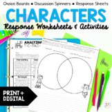 Character Traits Task Cards and Activities