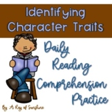 Identifying Character Traits {Reading Strategy of the Day}