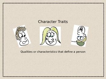Character Traits Review