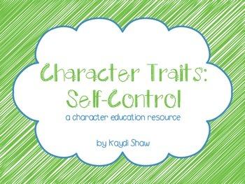 Character Traits: Self-Control