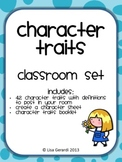 Character Traits Set - Posters, Student Booklet, Activity