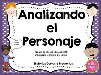 Character Traits Short Stories in Spanish