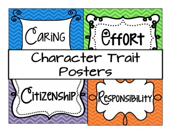 Character Traits Signs