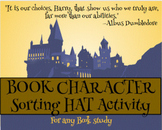 Character Traits - Sorting Hat Activity- Good for any book study- Google slides
