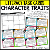 Character Traits Task Cards