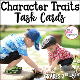 Character Traits Task Cards for Inferencing and Analyzing