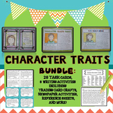 Character Traits Task Cards, Character Traits Activities a