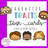 Character Traits Task Cards {Differentiated}