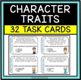 Character Traits Task Cards (Inference) Great ELA Center