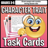 Character Traits Task Cards - Inferencing Reading Strategy