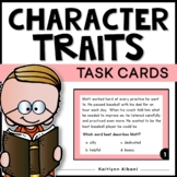 Character Traits Task Cards for Reading Comprehension