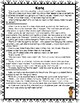 Character Traits Text Evidence -- Report Card