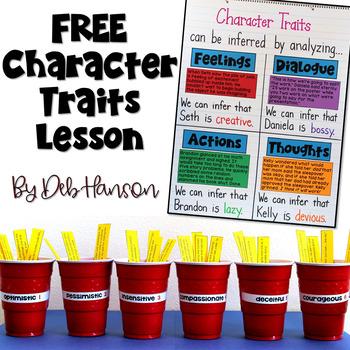 Character Traits: Three FREE Activities