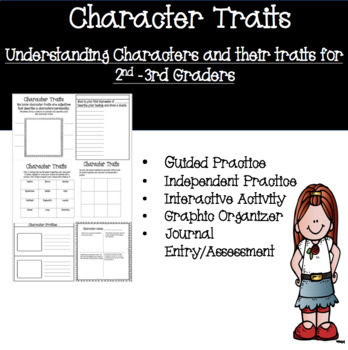 Character Traits, Understanding Character Traits, Reading Comprehension