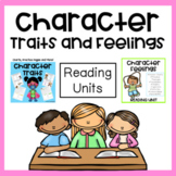 Character Traits Unit with Reading Passages, Organizers, Charts and Activities