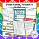 Character Traits Vocabulary Pack- Word Lists, Flash Cards