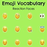 Character Traits Vocabulary Poster - Labeling Character Traits with Emojis
