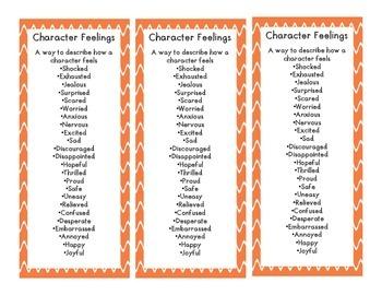 Character Traits Vs. Feelings