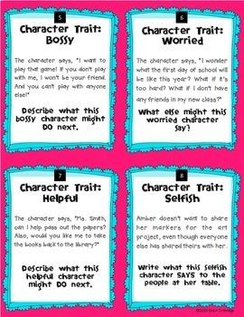 Personal traits essay