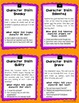 Character Traits Writing Task Cards