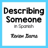 Character Traits and Appearance - Spanish Game