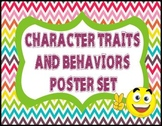Character Traits and Behaviors Poster Set