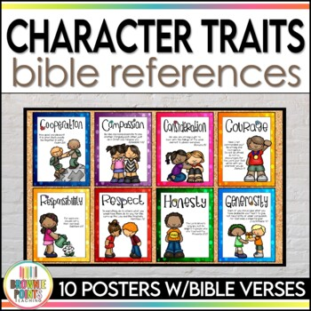 Character Traits and Bible References